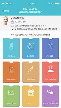 pat-healow-health-record-screenshot-smart-phone-spanish