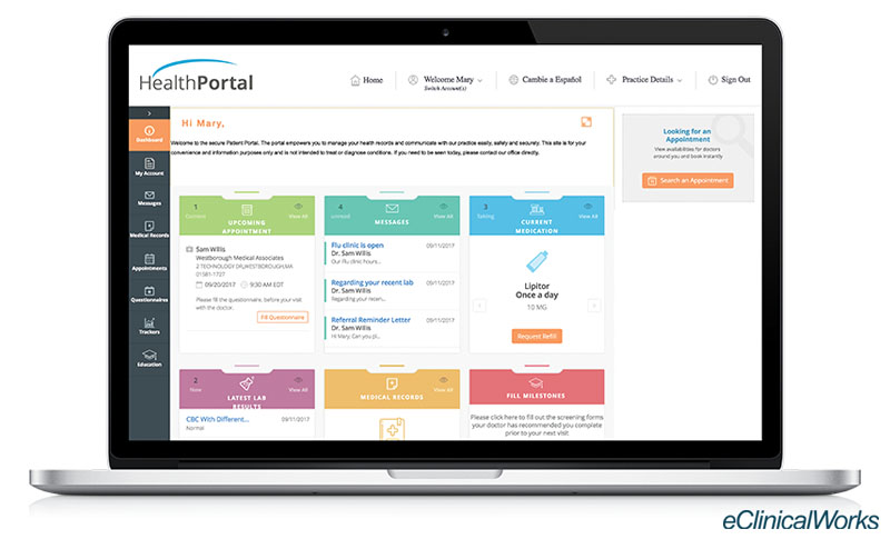 PatientPortalBlogScreenshot