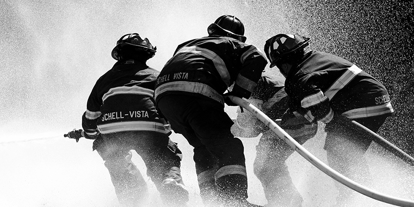 firefighters-in-California